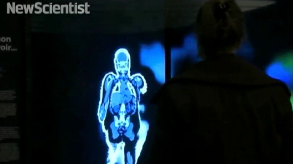 3D installation creates what your body might look like on the inside.