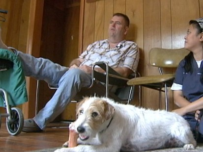 VIDEO: A Michigan man loses a toe to his dog, resulting in a diabetes diagnosis.