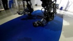 VIDEO: The mind-controlled exoskeleton will be used to make the ceremonial opening kick at the World Cup.