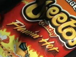 Flamin' Cheetos Too Hot for School