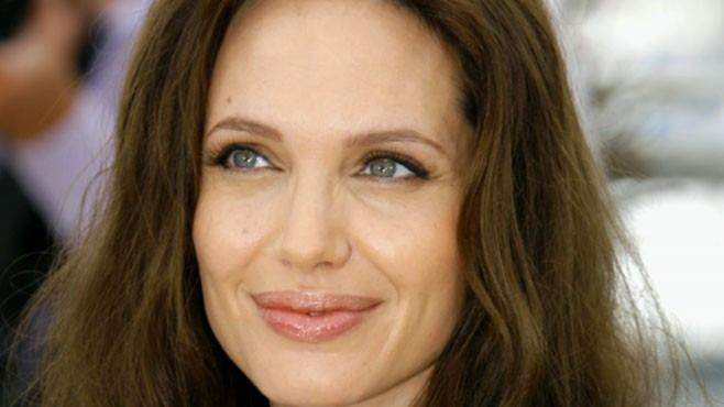 VIDEO: Angelina Jolie Helps Children
