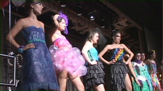 VIDEO: A Condom Fashion Show