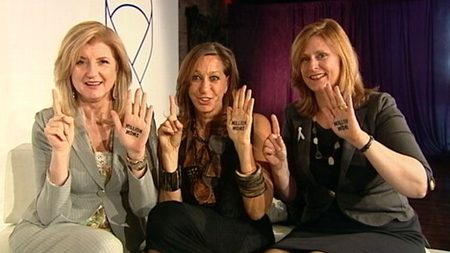 VIDEO: Arianna Huffington, Sarah Brown and Donna Karan share their birth stories.