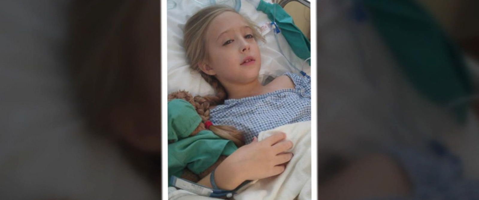 PHOTO: Chrissy Turner is battling a rare form of breast cancer at just 8 years old.