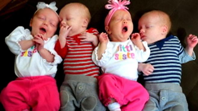 Multiple births and in vitro fertilization video abc news