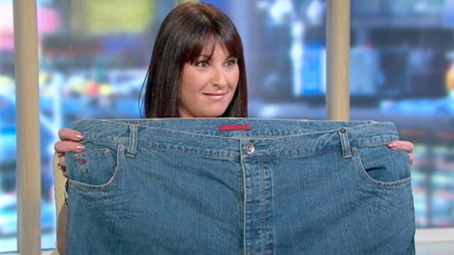 VIDEO: One woman?s incredible journey around her clothesline helped her lose 150 pounds.