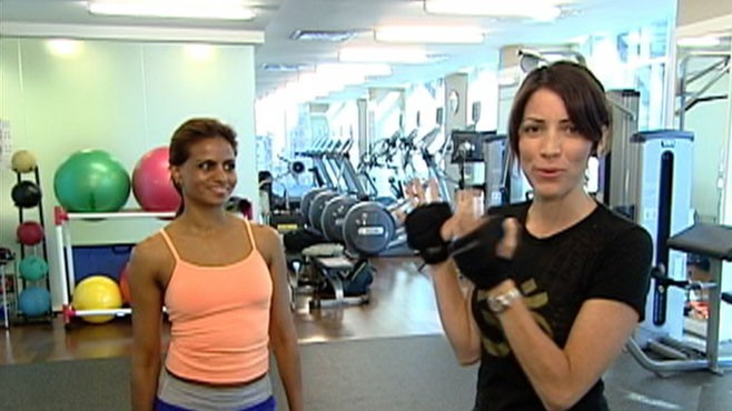 VIDEO: Makeover winner Marissa Campise learns how to harness her energy.