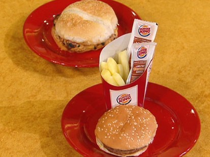 VIDEO: Upgrading your favorite fast-food meals to cut calories.