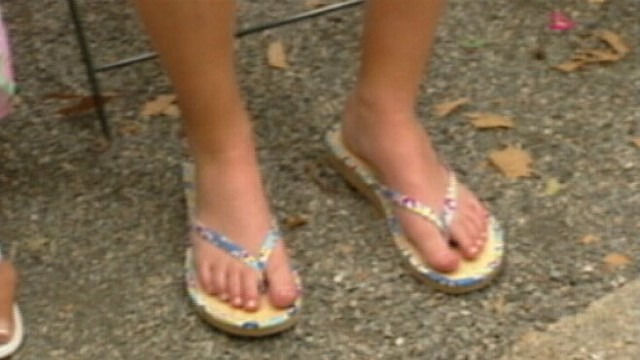 VIDEO: Look after your feet this summer.