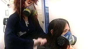 PHOTO Government Testing Uncovers Significant Levels of Formaldehyde in chemical used in Brazillian blow-outs