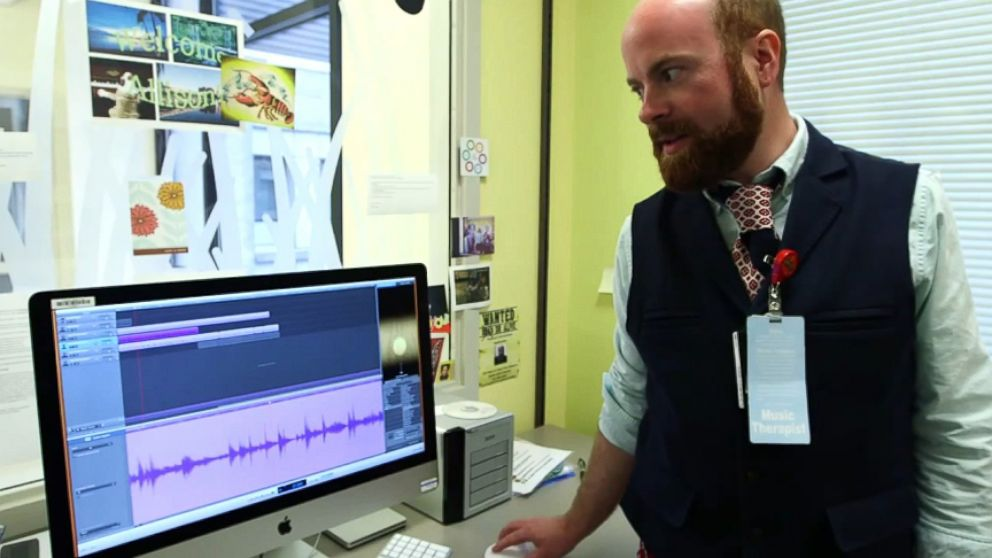 Heartbeat Music Therapy Helps Families Deal With Loss Brian Schreck records the heartbeat of a dying patient and turns it into music.