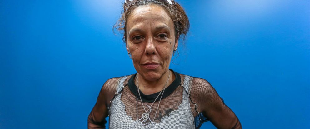 "PHOTO: Turina James told ABC News ""Nightline"" she first tried heroin at 17, after the death of her 1-year-old son."