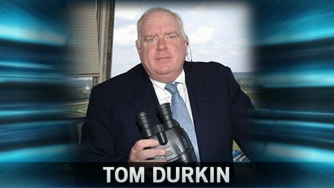 VIDEO: Tom Durkin opted not to renew his contract due to stress of calling major races.