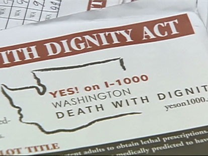 Video: First person dies under death with dignity act.