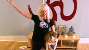 VIDEO: A Seattle yoga instructor extends her services to dogs.