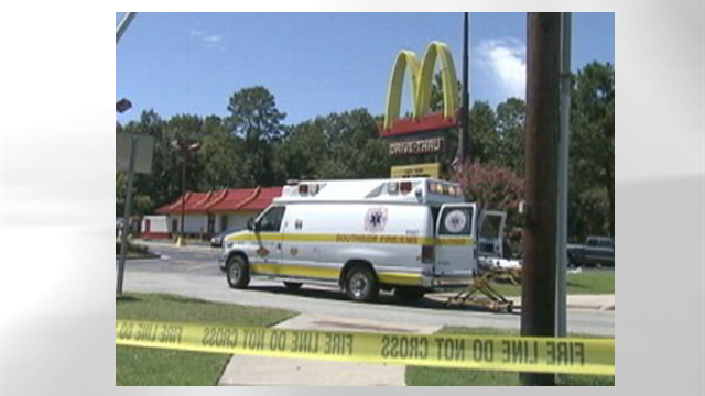 PHOTO: One woman died and nine others were sickened after breathing toxic fumes in the bathroom of a McDonalds restaurant in south Georgia.