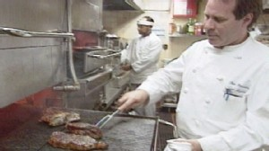 VIDEO: Cooking meat on gas stove instead of electric may release harmful chemicals.