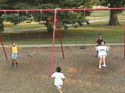VIDEO: Improper clothing limits kids playtime