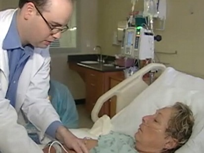 Video: Doctors try to use stem cells to treat stroke victims.
