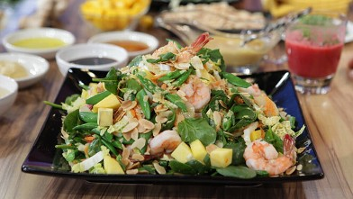 PHOTO: Bethenny Frankel's Asian Shrimp Salad.