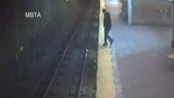PHOTO: A woman in Boston believes her fall from a train platform happened while she was asleep.