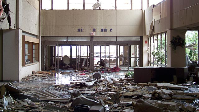 PHOTO: Interior of St. Johns Hospital in Joplin, Missouri