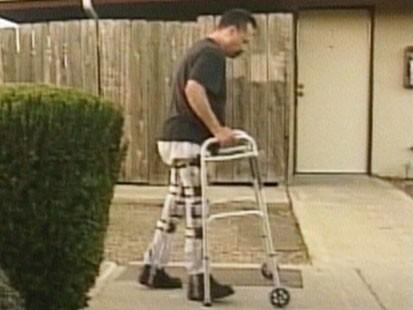 Video: 20 year paraplegic walks again after spider bite.