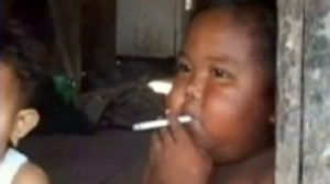 VIDEO: The Indonesian 2-year-old entered rehab to beat his cigarette addiction.