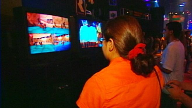 VIDEO: Study finds girls are more connected to family after playing games with parents.