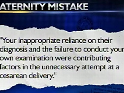 Video: Doctors mistakenly perform a c-section on a non pregnant woman.