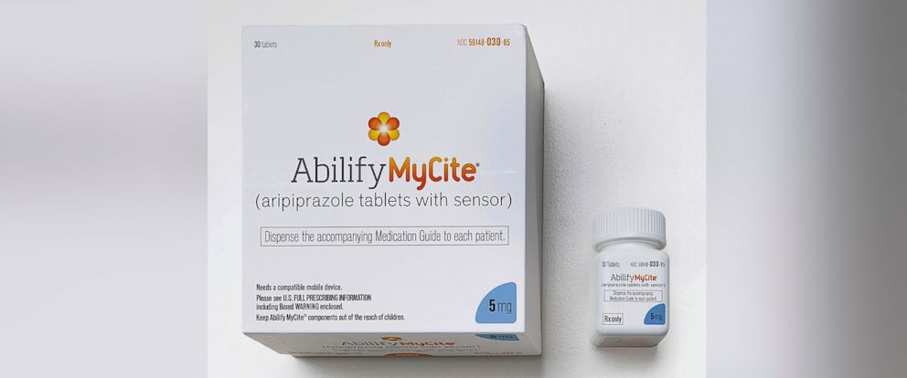 PHOTO: A rendering of the packaging for Abilify MyCite by Otsuka America Pharmaceutical, Inc.