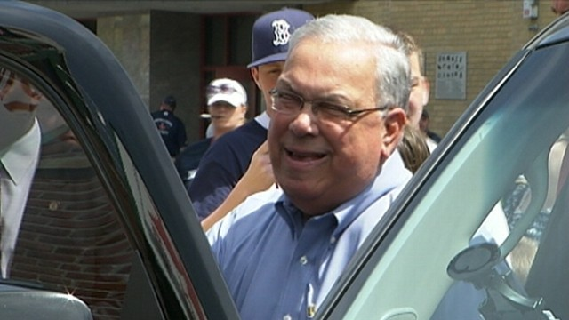 VIDEO: Thomas Menino, 69, underwent treatment for an infection and compression fracture in his back.