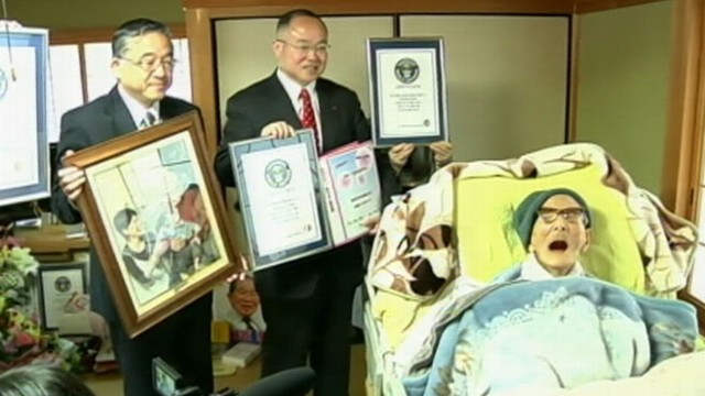 VIDEO: Japans Jiroemon Kimura, who was also designated the worlds oldest person, died of natural causes.