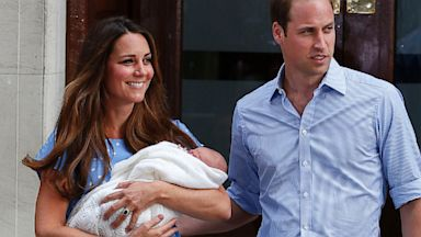 PHOTO: Duchess Kate, Prince William and the royal baby