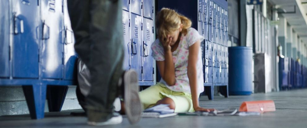 PHOTO: (Undated stock photo) CDC data on bullying in schools nationwide suggests that it is likely that more than 200,000 victims of bullying have carried a gun or knife to school in the last 30 days.
