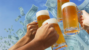 Photo: Obvious Studies? Cheap Beer Makes College Students Drink More: While Some Studies Seem to Be No-Brainers, Scientists Say the Findings Are Useful