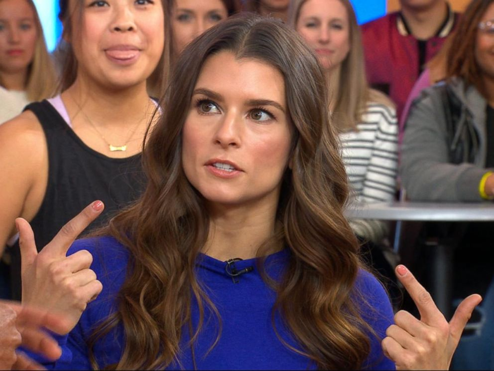 PHOTO: Danica Patrick appears on Good Morning America with wellness tips from her book Pretty Intense.