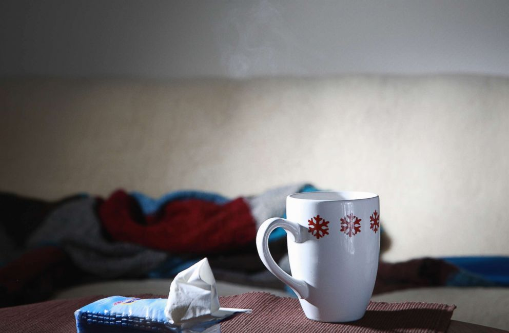 PHOTO: A pack of tissue and a mug are pictured in this undated stock photo.