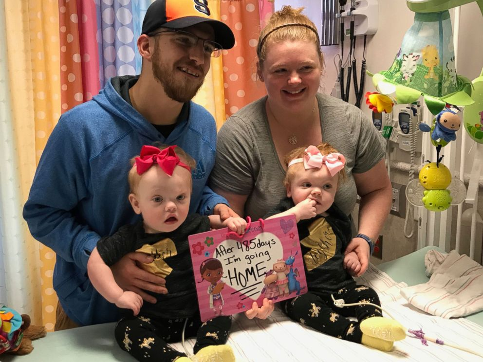 Previously conjoined NC twins go home just in time for Thanksgiving
