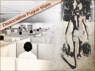 I need specific cases of dissociative fugue state for a paper?