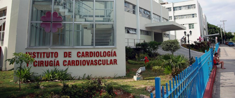 PHOTO: The Institute for Cardiology and Cardiovascular Surgery stands in Havana, Cuba, June 26, 2015. Cuba plans to invest 50 million pesos to upgrade almost 900 health care facilities across the country.