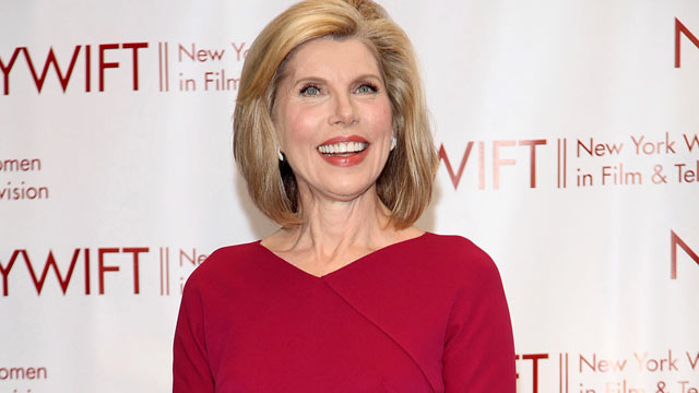 PHOTO: The wellness formula is Christine Baranski's choice of cold remedy, seen here Dec. 7 2011.