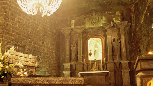 PHOTO: Wieliczka, the UNESCO heritage salt mine sin Poland, is seen in this undated photo.