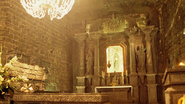 PHOTO: Wieliczka, the UNESCO heritage salt mine sin Poland, is seen in this undated photo.