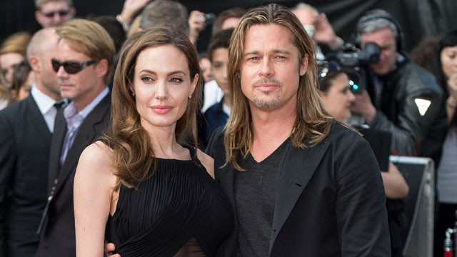 PHOTO: Brad Pitt and Angelina Jolie attend the World Premiere of World War Z at The Empire Cinema, June 2, 2013 in London.