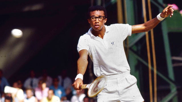 PHOTO: Arthur Ashe, is