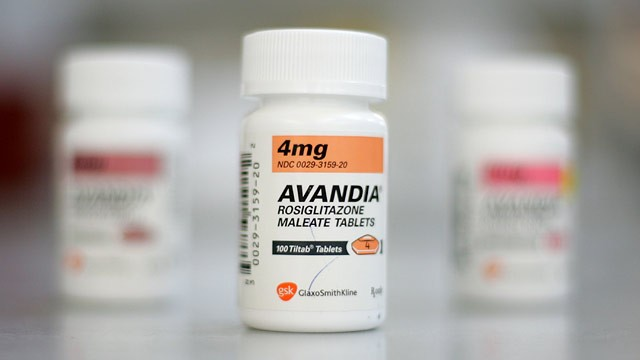 PHOTO: Bottles of Avandia diabetes medication are seen at Jack's Pharmacy May 21, 2007 in San Anselmo, California.