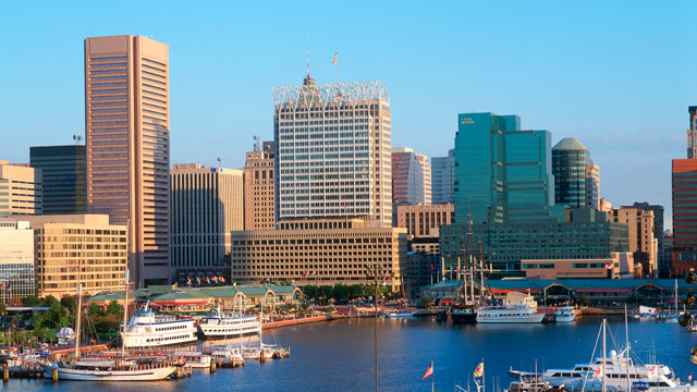 PHOTO: An undated view of Baltimore, which has one of the worst records for heart health in the country.