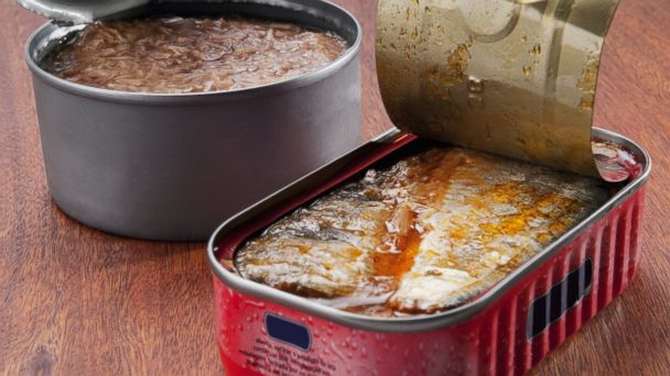 PHOTO: Canned tuna fish and canned sardines are good sources of vitamin D.