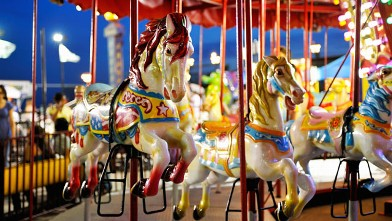 Carousels accounted for 20.9 percent of amusement park injuries.